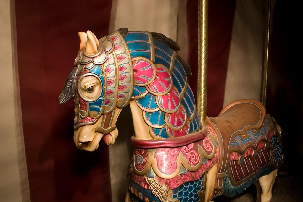 The Sad Carousel Horse