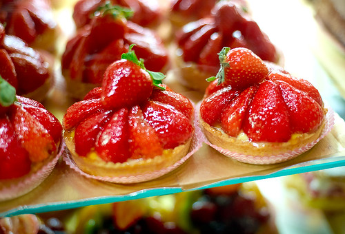 JJ's Boulangerie Strawberry Tarts