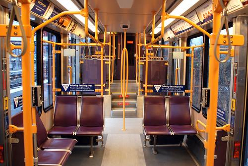 Portland MAX Transit Car
