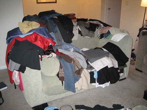 Too Much Clothing!