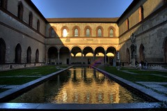 courtyard(1.0), building(1.0), landmark(1.0), architecture(1.0), estate(1.0), reflecting pool(1.0), thermae(1.0),