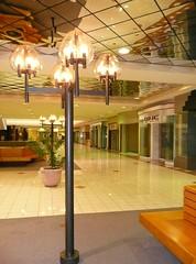 Overland Park, KS Metcalf South Shopping Center (a dead mall) light fixture