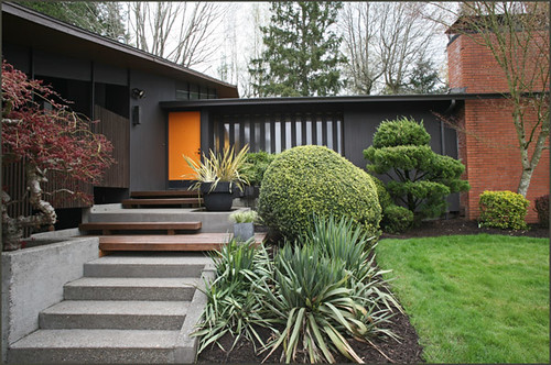 Mid Century Modern Homes Landscaping shade / contemporary gardens - a gallery on flickr
