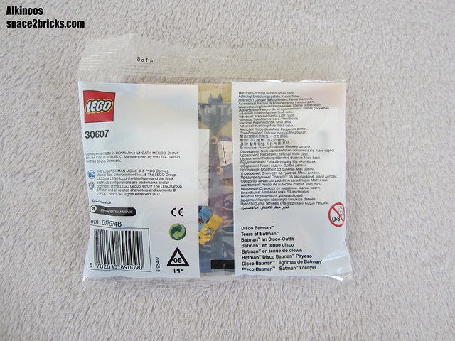 Lego 30607 polybag Disco Batman & Tears of Batman p2