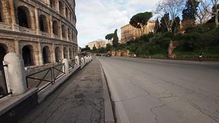 Image of Colosseum near Roma Capitale. trip20170208 rzym roma muzeumwatykańskie colosseum geo:lon=12492333 geo:lat=41890864
