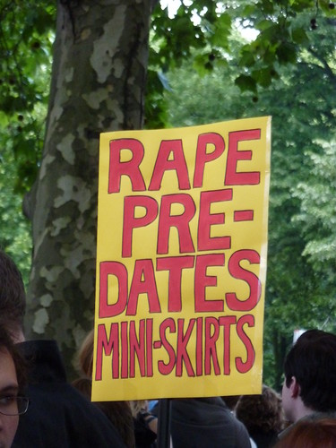 Rape pre-dates mini-skirts