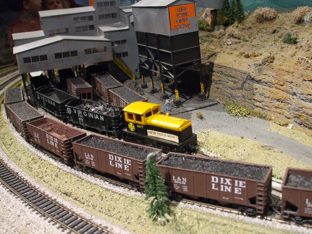 HO Gauge model trains
