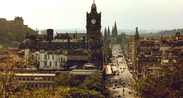 View of Edinburgh, Scotland by Flickr CC Andrea_44