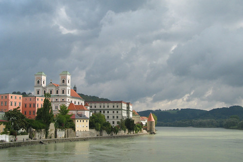 Clouds over Passau - One year on Flickr