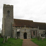 Huntingfield church