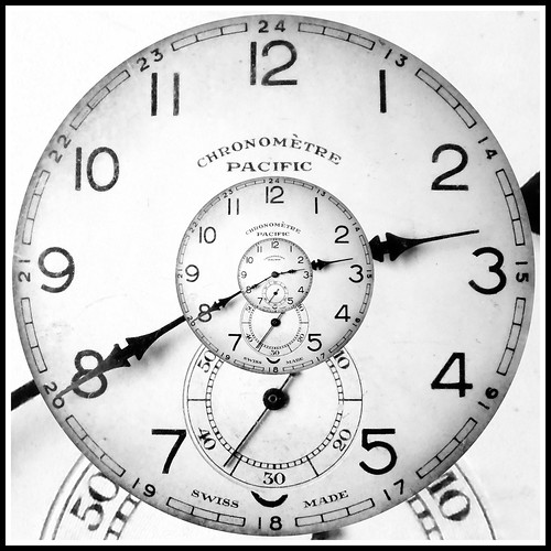 el reloj del Conejo Blanco - White Rabbit´s clock