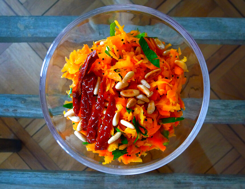 Yeux friands et bouche b e recette ayurv dique la picoti picota salade de carottes aux - Recette cuisine ayurvedique ...