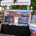 Sailfish Marina Art Show Captain Kimo's Booth