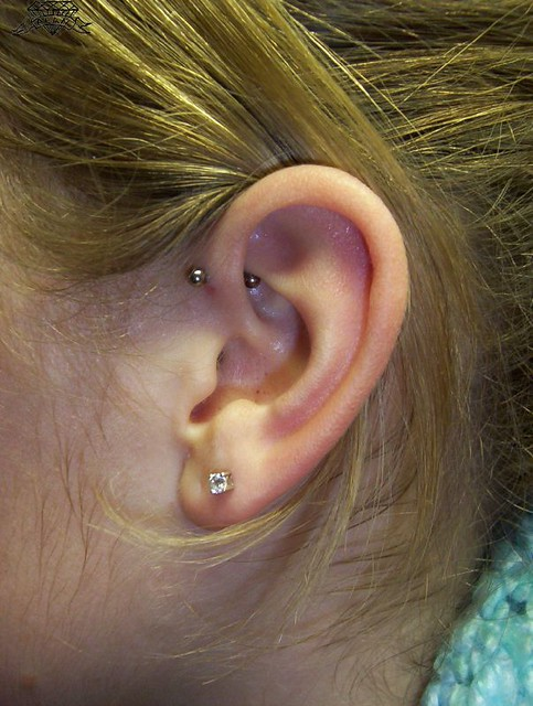 16g forward helix piercing flickr photo sharing. Black Bedroom Furniture Sets. Home Design Ideas