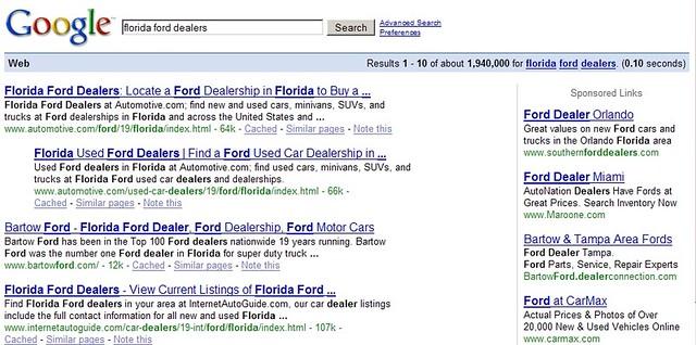 Orlando Ford Dealers >> Behavioral Targeting Florida Ford Dealers Tamar