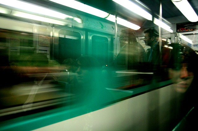 Ghost in the train