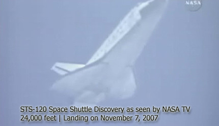 space shuttle landing sequence - photo #20