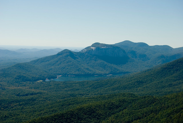 View of Table Rock from Caesar's Head