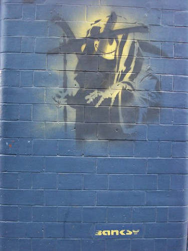 Smiley Grim Reaper, Banksy