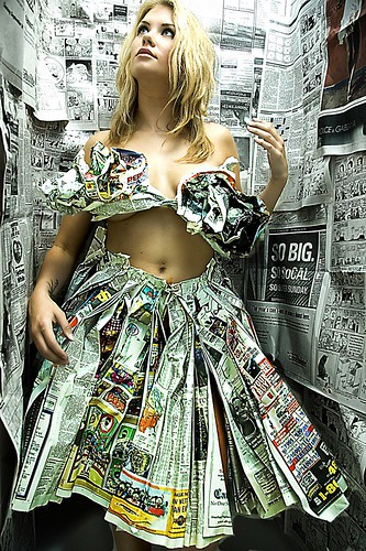 newspaper dress bathtub2.jpg