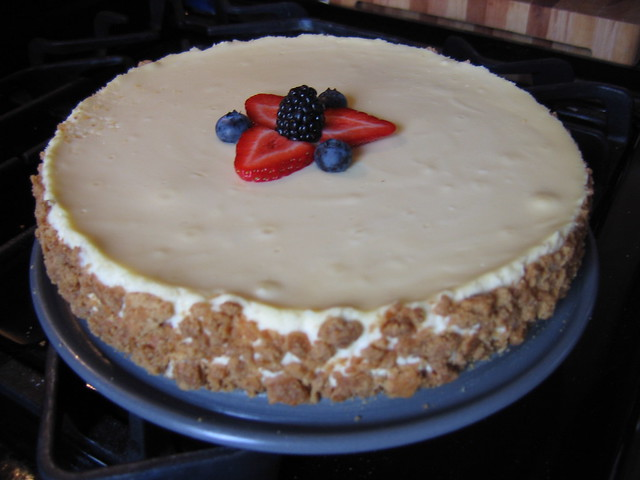 sour cream cheesecake | Flickr - Photo Sharing!