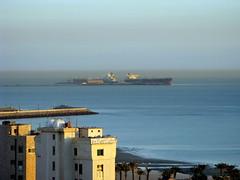 Oil tankers in Kuwait