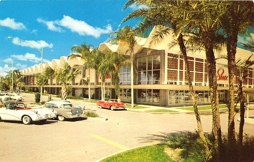 school building history cars college retail architecture modern tampa logo concrete store weed parkinglot streetlight russell fifties florida landscaping sears postcard johnson shell bluesky palm architect departmentstore palmtree 1950s tropical 1957 50s vault script canopy googie department zigzag hitech erwin modernist overhang midcenturymodern hillsborough searsroebuck midcentury pleated 22ndst mcm bigbox votech vocational seminoleheights trapezoidal searsroebuckandco accordionfold funlan concreteshell concretelace hillsboroughave erwinvocationaltechnicalcenter foldedplate foldedshell robertlawweed hillsboroughcountyschoolboard robertweed