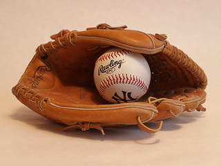 Baseball glove by Andrei!, via Flickr