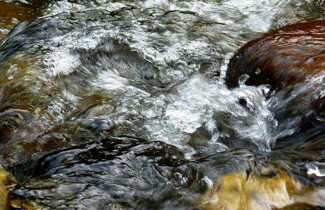 River Splashing over Rocks