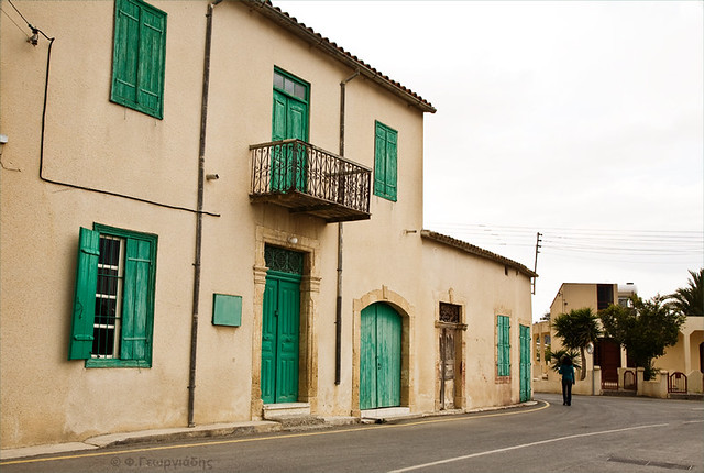 Old house at Athienou village