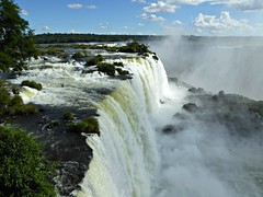 waterfall south america
