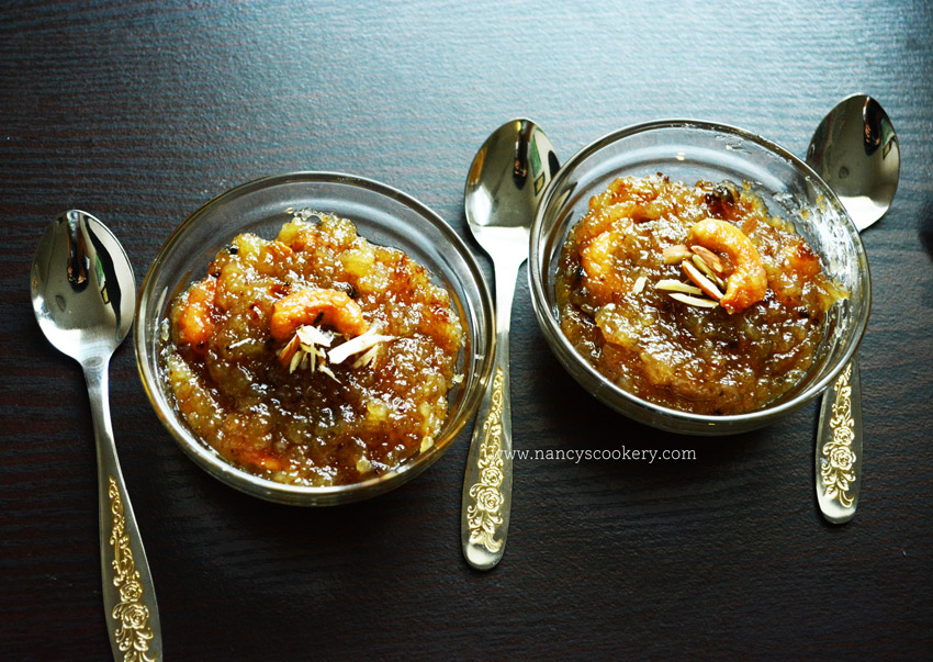 Indian sweet - bread halwa