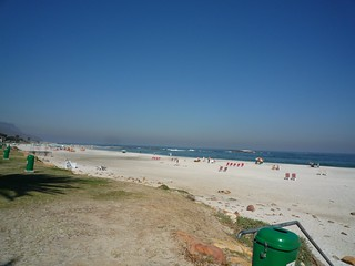 Image of Camps Bay Beach near Cape Town. beach southafrica