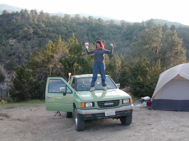 Grrrrrllly Girl Camper