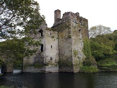 castle, building, estate, water castle, waterway, moat,