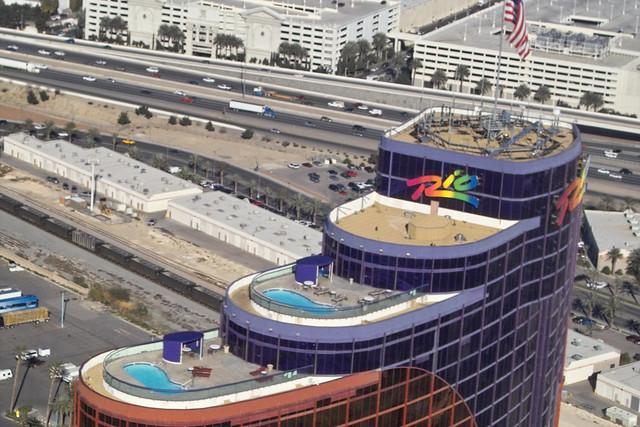 Rio Hotel Las Vegas Map