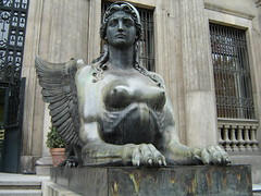 Esfinge. Museo Arqueológico Nacional. Madrid.