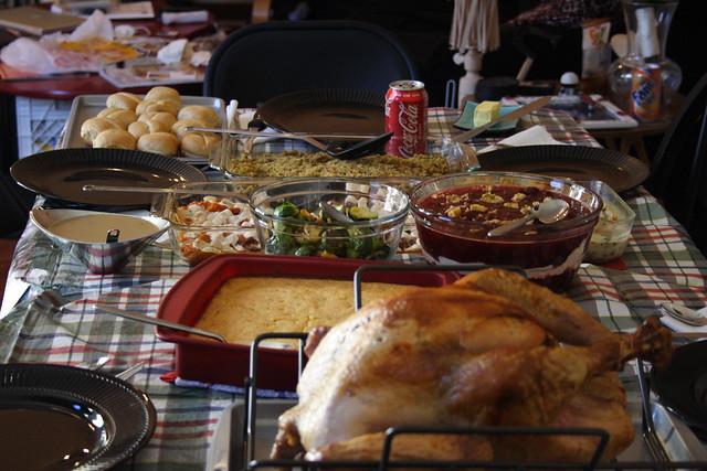 Thanksgiving Dinner from Flickr via Wylio