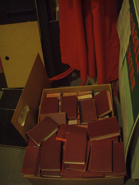 Old Choir Robes and Hymnals from Flickr via Wylio