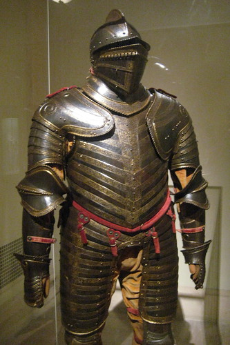 NYC - Metropolitan Museum of Art - Field Armor of King Henry VIII of England by wallyg