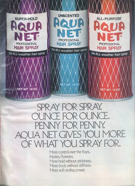 Vintage Aqua Net
