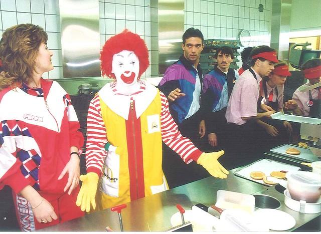 Ronald McDonald a konyhában
