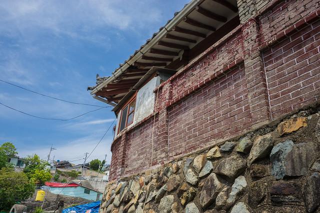 Early modern hanok, Yeosu, South Korea