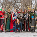 Asgardian Marvel group shoot  at March Toronto Comic Con 2014