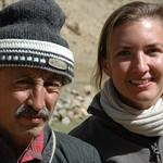 Pamiri Man and Audrey - Garm Chashma, Tajikistan