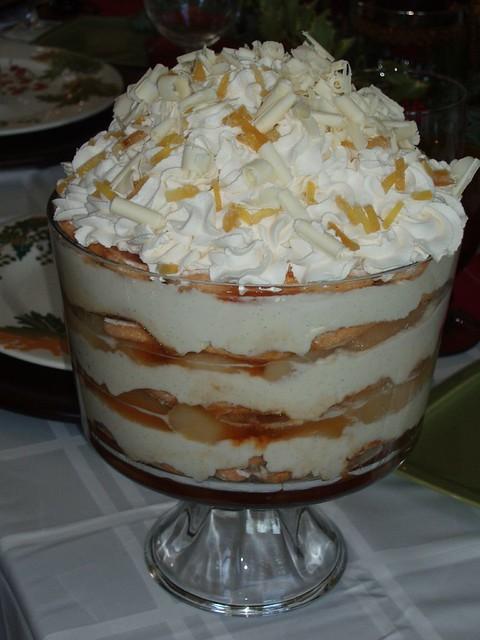 White chocolate tiramisu trifle | Flickr - Photo Sharing!