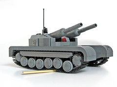 gun(0.0), churchill tank(0.0), combat vehicle(1.0), weapon(1.0), vehicle(1.0), tank(1.0), self-propelled artillery(1.0), gun turret(1.0), land vehicle(1.0),