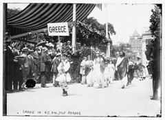 Greece in N.Y. 4th of July Parade  (LOC)