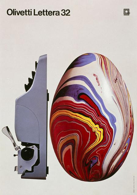 Olivetti Lettera 32 Poster