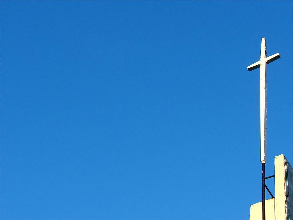 Grace EV Free Church cross background - a photo on Flickriver